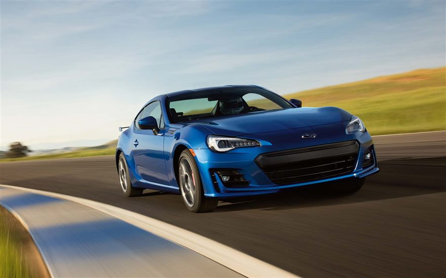 Subaru Redesigned the BRZ