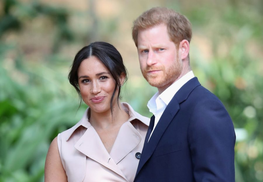 JOHANNESBURG, SOUTH AFRICA - OCTOBER 02:  Prince Harry, Duke of Sussex and Meghan, Duchess of Sussex attend a Creative Industries and Business Reception on October 02, 2019 in Johannesburg, South Africa.  (Photo by Chris Jackson/Getty Images)