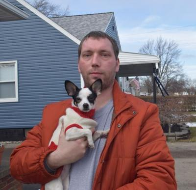 Dog reunited after house fire was alone for two weeks