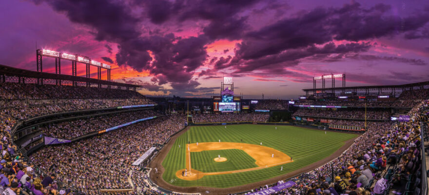 DENVER%2C+CO+-+JULY+22%3A++A+general+view+of+Coors+Field+during+the+game+between+the+Pittsburgh+Pirates+and+the+Colorado+Rockies+on+July+22%2C+2017+in+Denver%2C+Colorado.+%28Photo+by+Kyle+Cooper%2FColorado+Rockies%2FMLB+via+Getty+Images%29