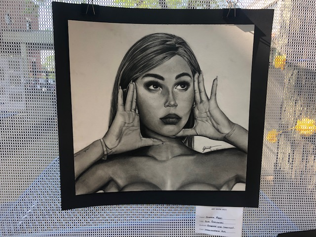 Drawing by Gianna Morel, HHS Junior