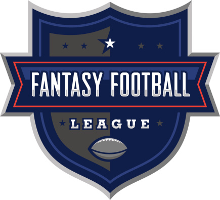 Your fantasy football league will look great with this logo. Customize with your own colors and text.