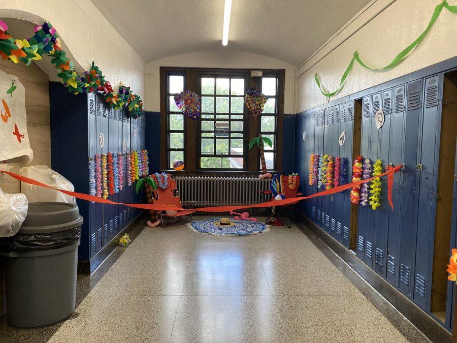Hall Decorating: The Freshman Hallway